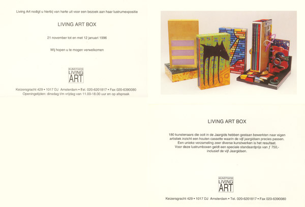 1996-Living-lustrumexpositie-Art-Box
